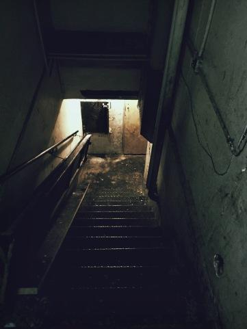 Escalier du Blaine Bar